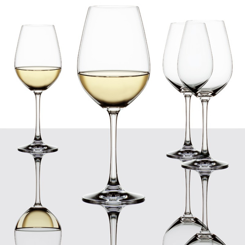 Spiegelau White Wine Glass Set Dublin Crystal Glass