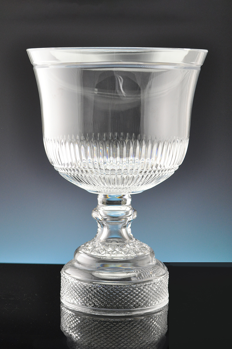 Min1019 Trophy 26 5cm Dublin Crystal Glass Limited