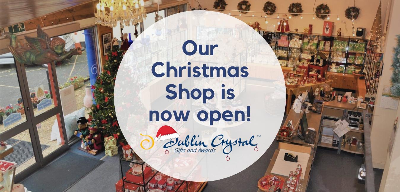 Dublin Crystal Christmas Website header